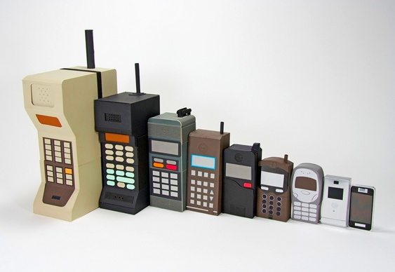 Mobile Phone Development History