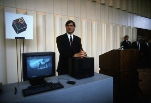 05 Oct 1988, Palo Alto, California, United States of America --- Steve Jobs --- Image by © Ed Kashi/VII/Corbis
