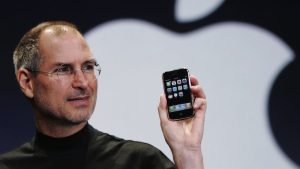 Jobs Apple iphone 2007
